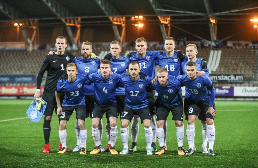 8e7ca77c598 Eesti jalgpallikoondis kohtub Rahvuste liigas Soome, Ungari ja ...