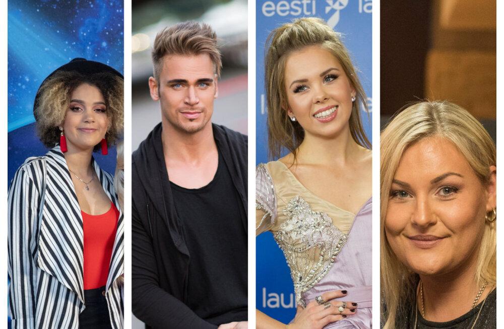 Sünne Valtri, Sissi Benita ja Kadi Poll! Kes on Eesti Laulu poolfinalistidest kõige üllatavamad?