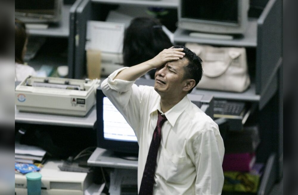 Jaapani börs elas täna läbi mitmekümne aasta rängima kukkumise