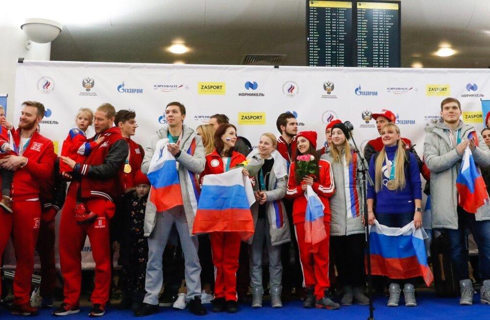 Venemaa koondise vastuvõtt