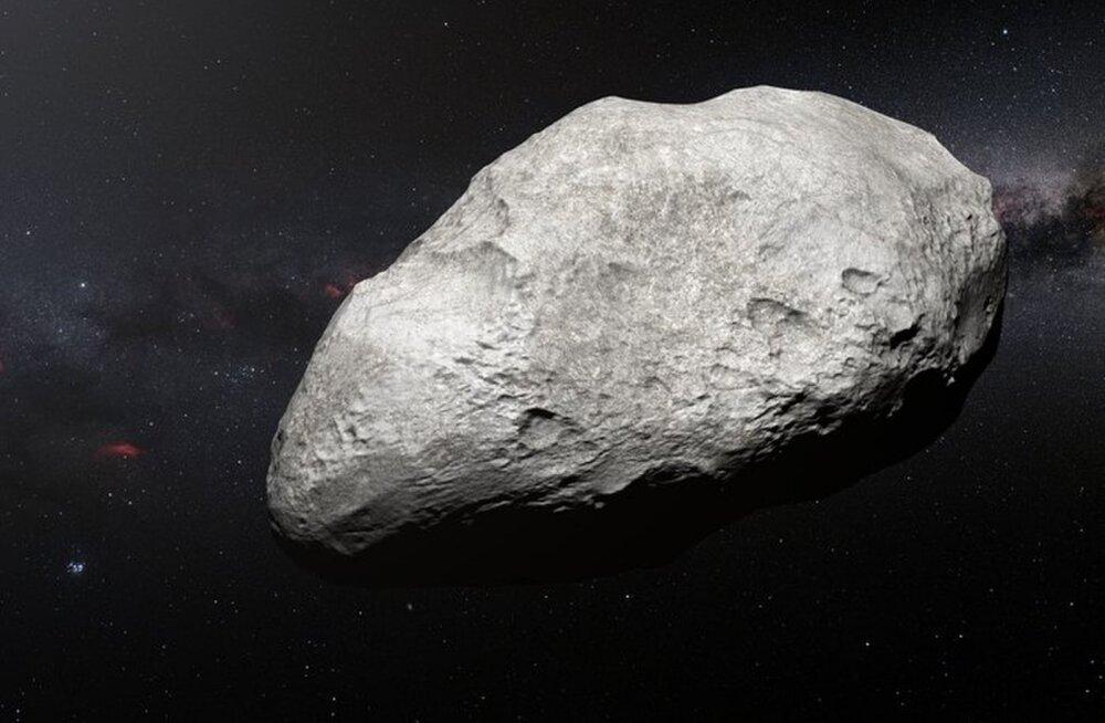"""Kaugelt Päikesesüsteemi äärealadelt avastati iidne """"pagendatud"""" asteroid"""