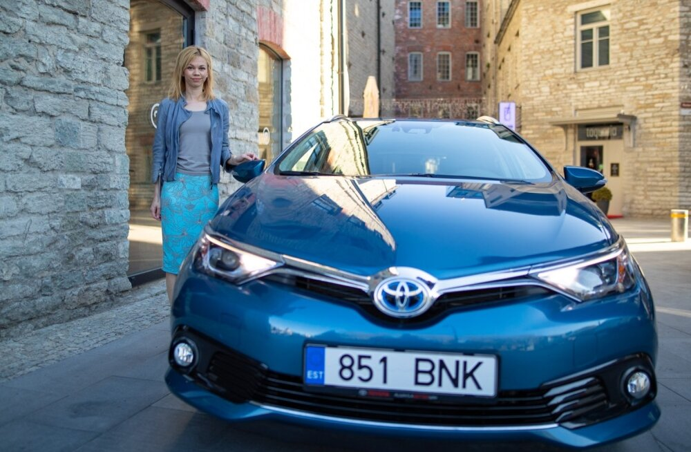 Toyota Baltic turundusjuht Liisi Kõivumägi