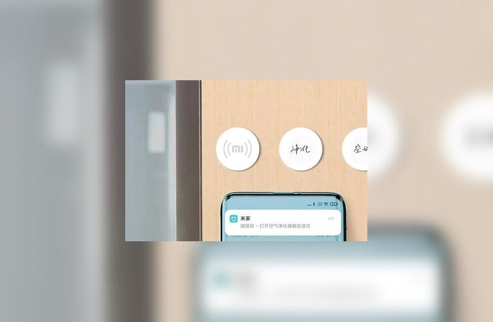 Xiaomi nutikodu saab juhtida NFC-kleepsudega
