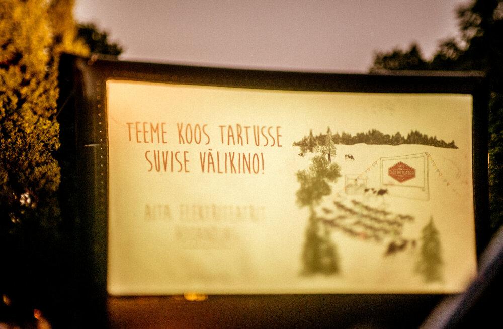 Elektriteatri suvine välikino toob Tartu eri paigus vaatajateni väärtfilmid