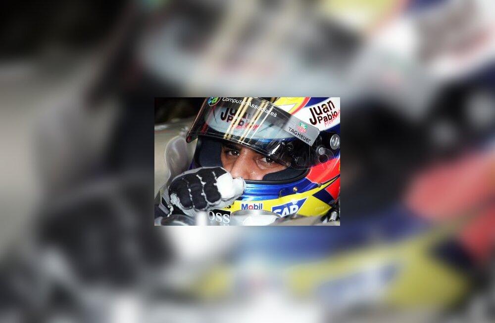 Juan Pablo Montoya Itaalia GP-l