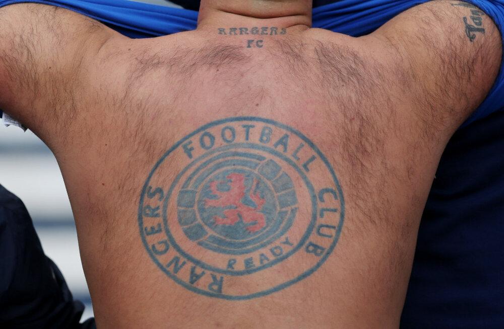 Glasgow Rangersi jalgpallifänn