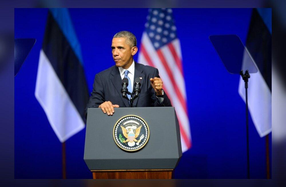 REPORTAAŽ: Obama kõne pani sulama, meelitas ja pani küsima: kes Eestis suudab sellise kõne pidada?