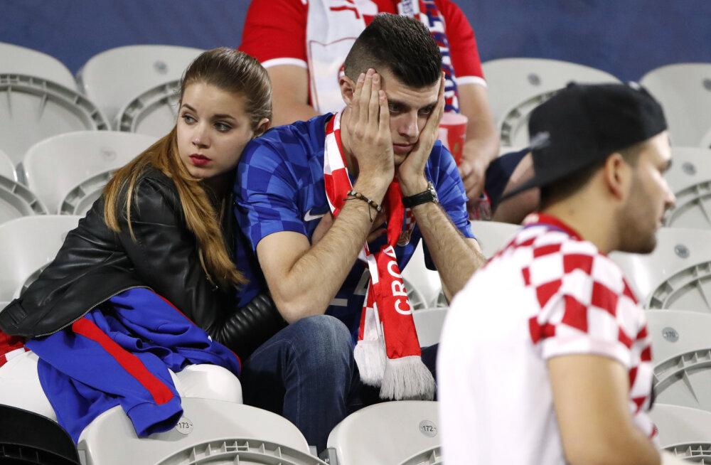 JALGPALLI EM-i BLOGI: Horvaatidel on nii-nii valus, portugallased seitsmendas taevas