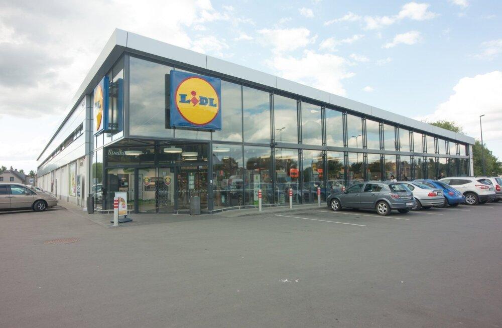 Lidl kauplus Leedus