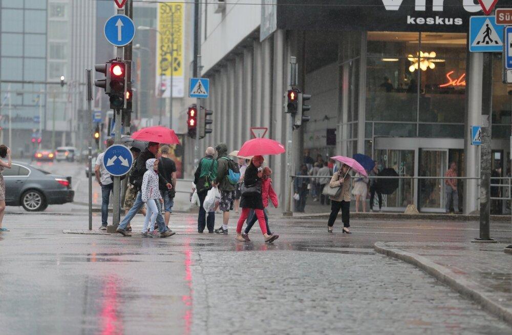 Välismaa ilmaportaalid: augustikuu lõpuni jätkub heitlik ja vihmane ilm
