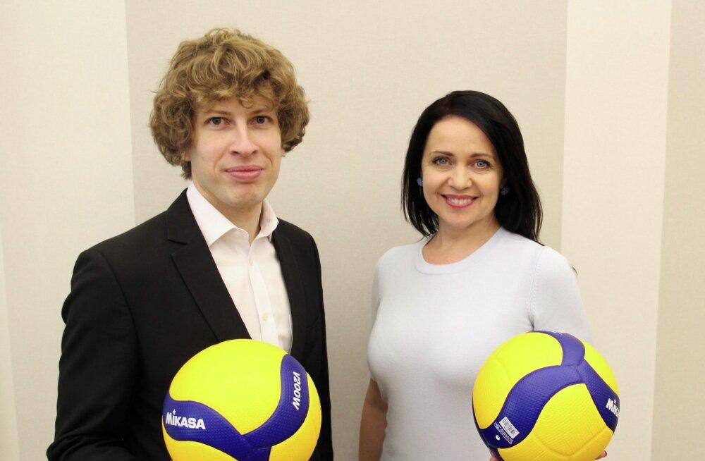 Tanel Kiik ja Anneli Ott: võrkpall annab tugeva tervise ja sõbrad kogu eluks