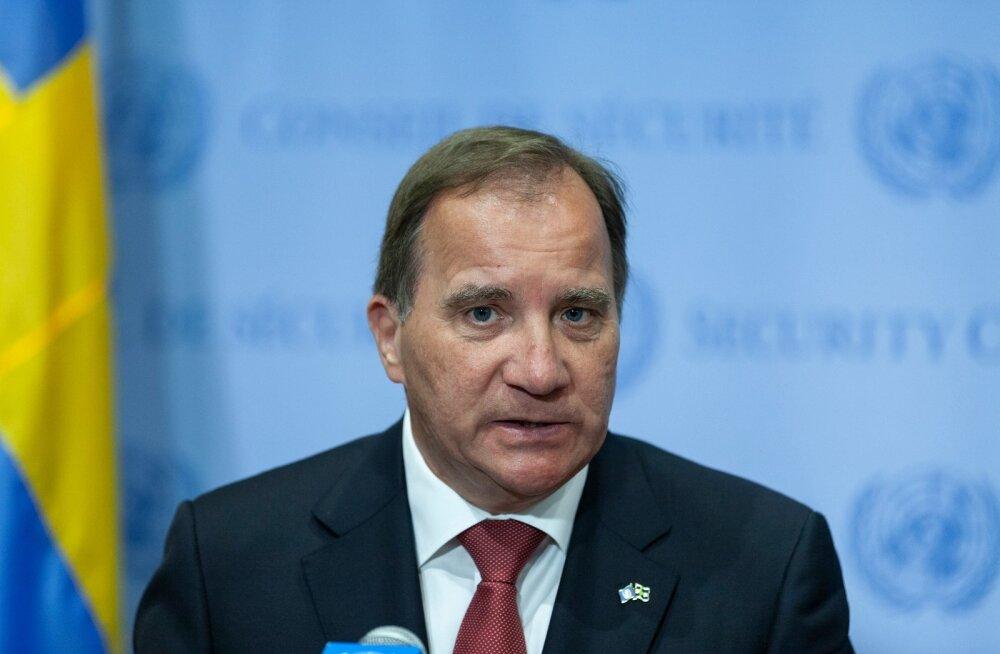 Rootsi peaminister Löfven autopõletajatele: mida kuradit te teete?