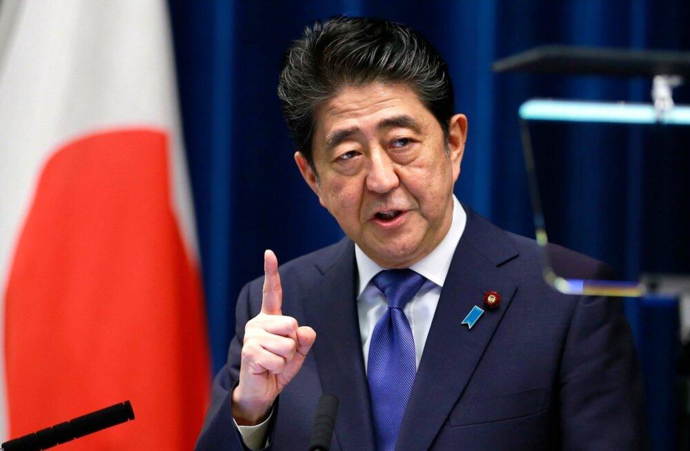 Jaapani peaminister Abe kutsus esile ennetähtaegsed valimised