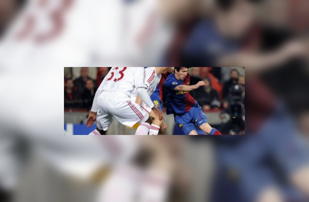 Lionel Messi mängus Bayerniga