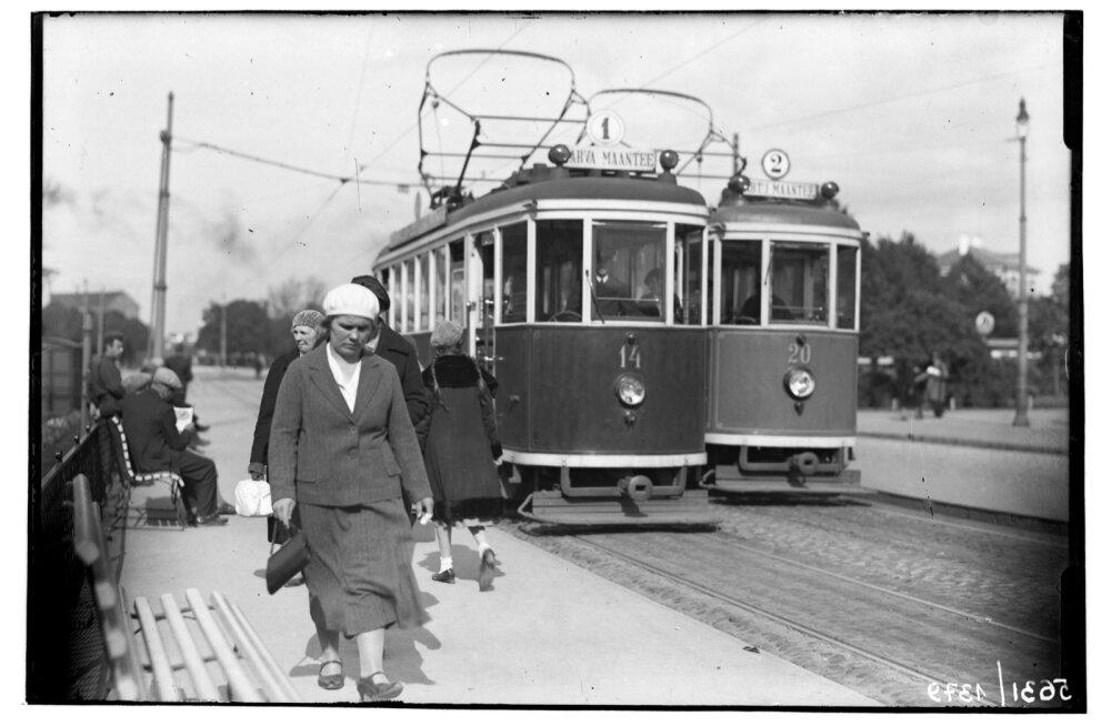 Tramm 1930ndatel aastatel