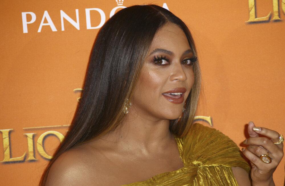 Kas tõesti rase? Beyonce kleit on fännid kihama löönud