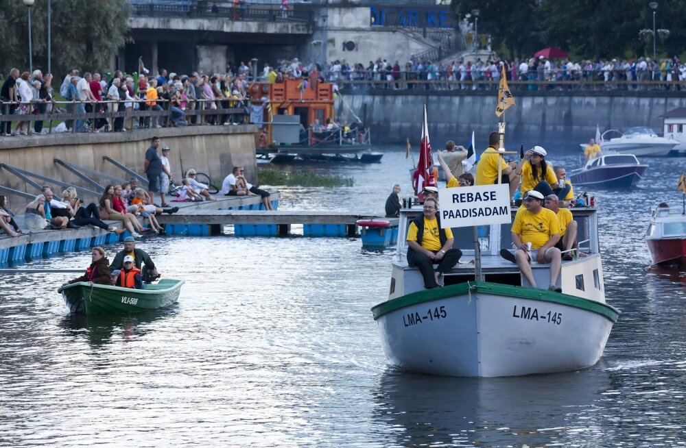 Emajõgi saab Tartus kümnendat korda festivalimelu sisse