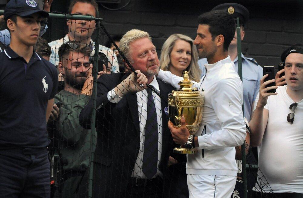 Boris Becker värskest Wimbledoni võitjast: Djokovic väärib rohkem austust