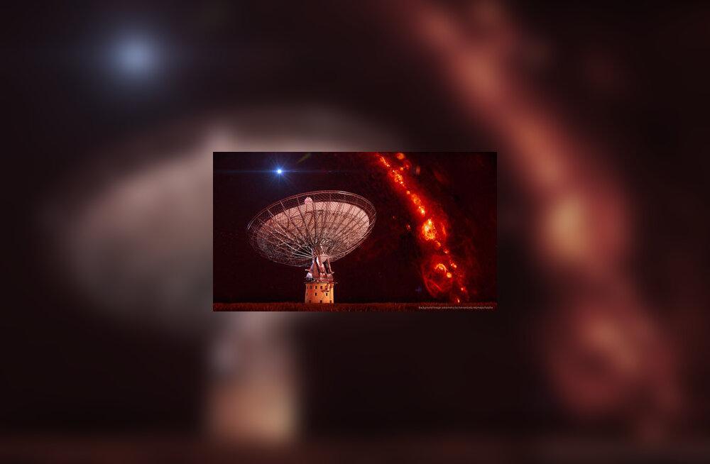 MÜSTIKA: Ülienergilised raadiolainete pursked kümne miljardi valgusaasta kauguselt