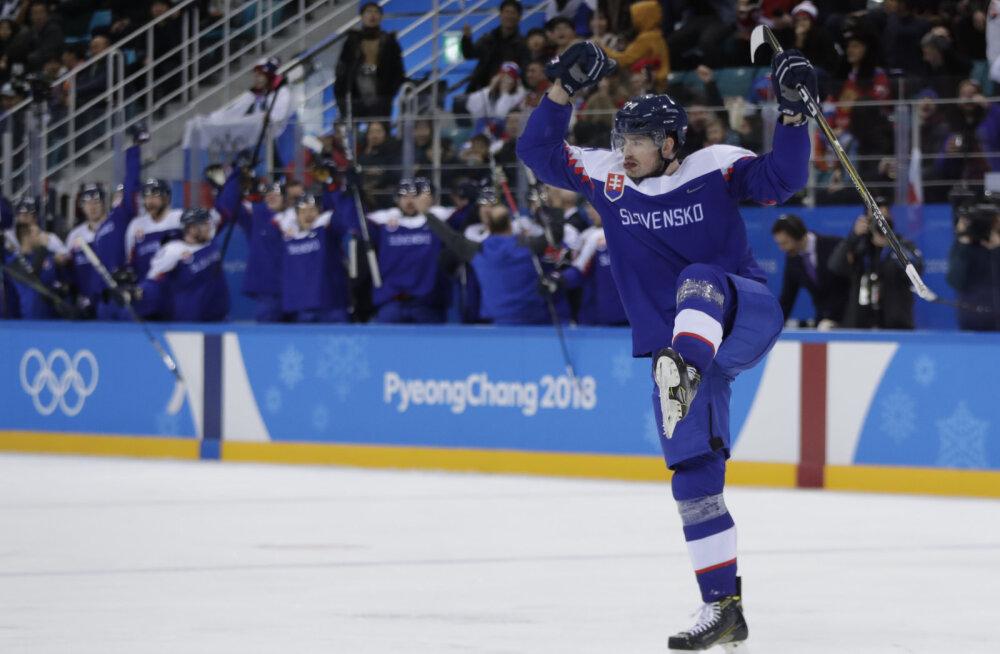 Olümpia hokiturniir algas suurüllatustega: venelased kaotasid Slovakkiale, USA Sloveeniale!
