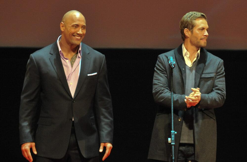 KLÕPS | Dwayne 'The Rock' Johnson postitas Paul Walkerist südantlõhestava pildi: ma ei jaga tavaliselt pilte sõpradest