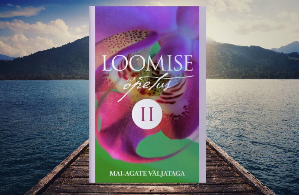 """Ilmunud on Eesti tuntud tervendaja ja kanaldaja Mai-Agate Väljataga teine raamat """"Loomise õpetus II"""""""
