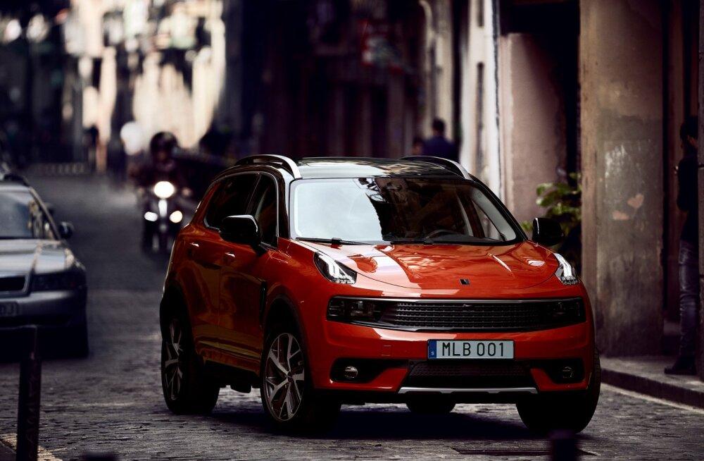 Euroopasse tuleb uus auto: 2019. aastal alustatakse Belgias Lynk & Co tootmist