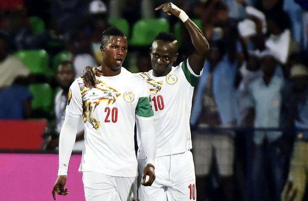 Senegali koondislased Keita ja Sadio Mane