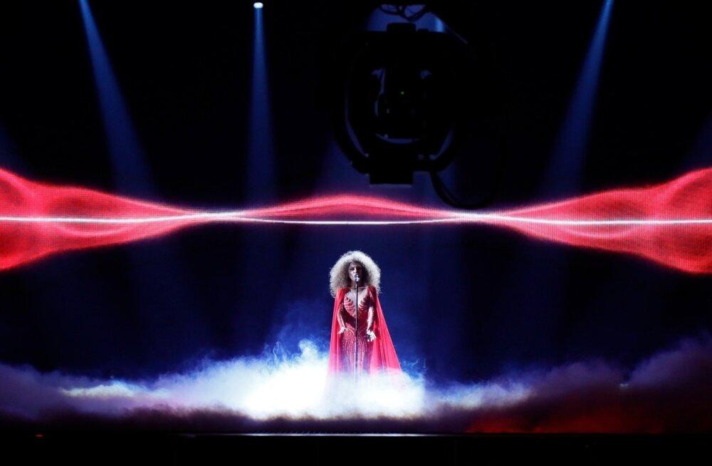 SUUR GALERII: Milliseid graafilisi lahendusi ja pürotehnikat toob Eurovisioni esimene eelvoor?