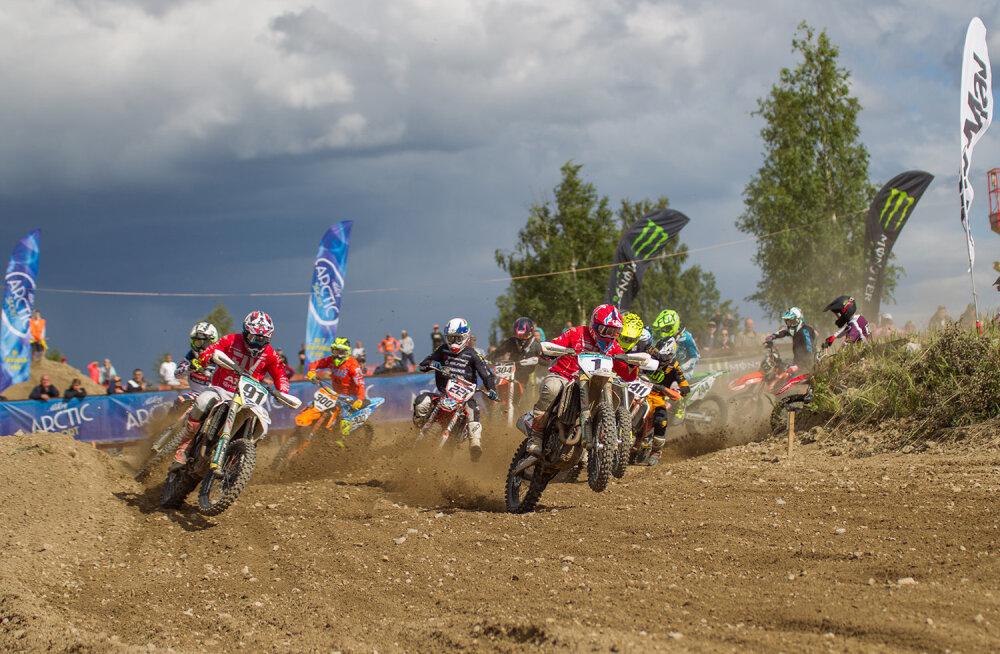Motokrossi meistrivõistluste suur finaal sõidetakse laupäeval Tihemetsas