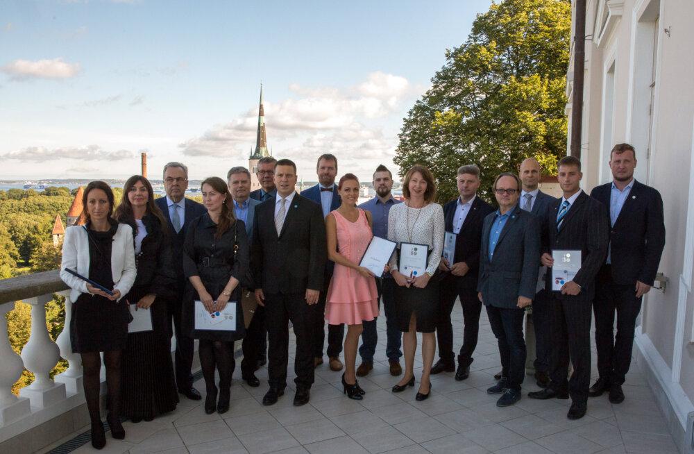 Ратас поблагодарил предпринимателей за вклад в празднование юбилея ЭР