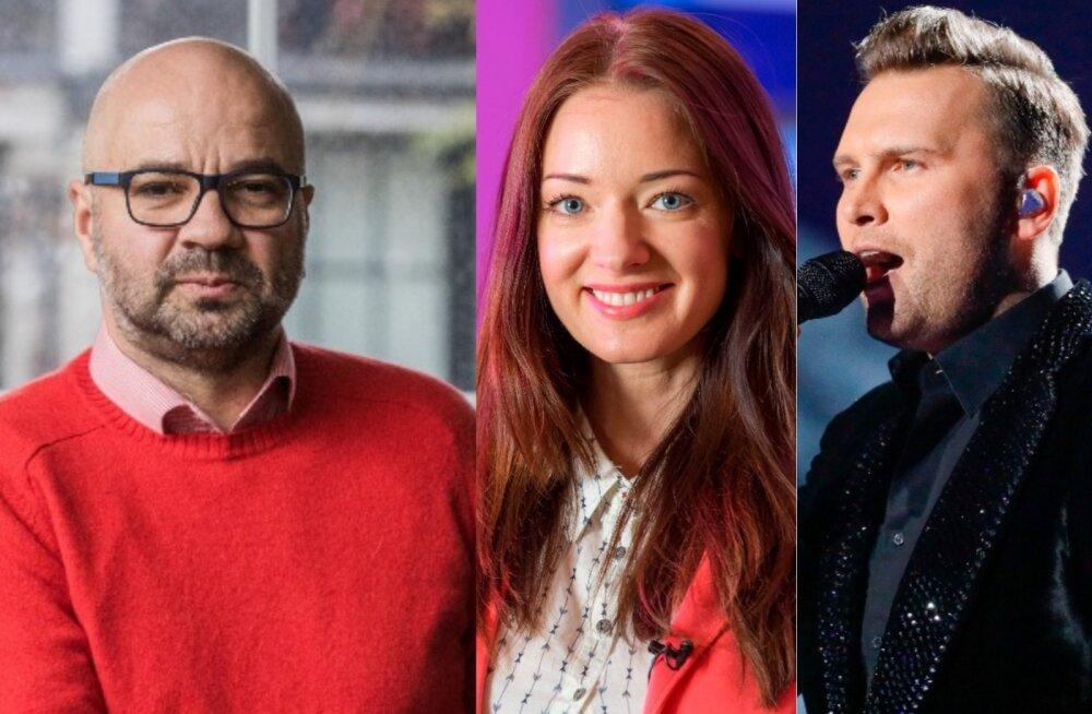 Mihkel Raud, Eda-Ines Etti ja Koit Toome on tänvuse superstaarisaate hooaja kohtunikud
