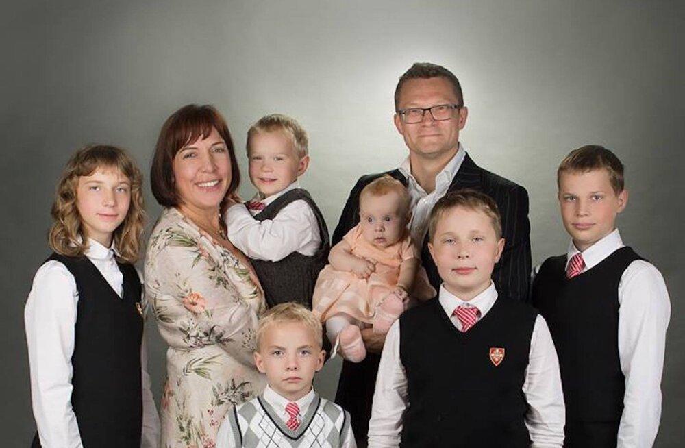 KLÕPS | Mailis Reps jagas imevahvat täienenud perepilti