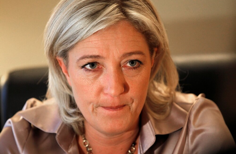 Marine Le Pen loobub euroalast ja EL-ist lahkumise nõudmisest