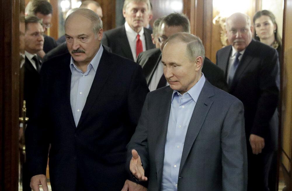 Lukašenka: Moskvas vihjatakse Valgevene Venemaaga ühinemisele