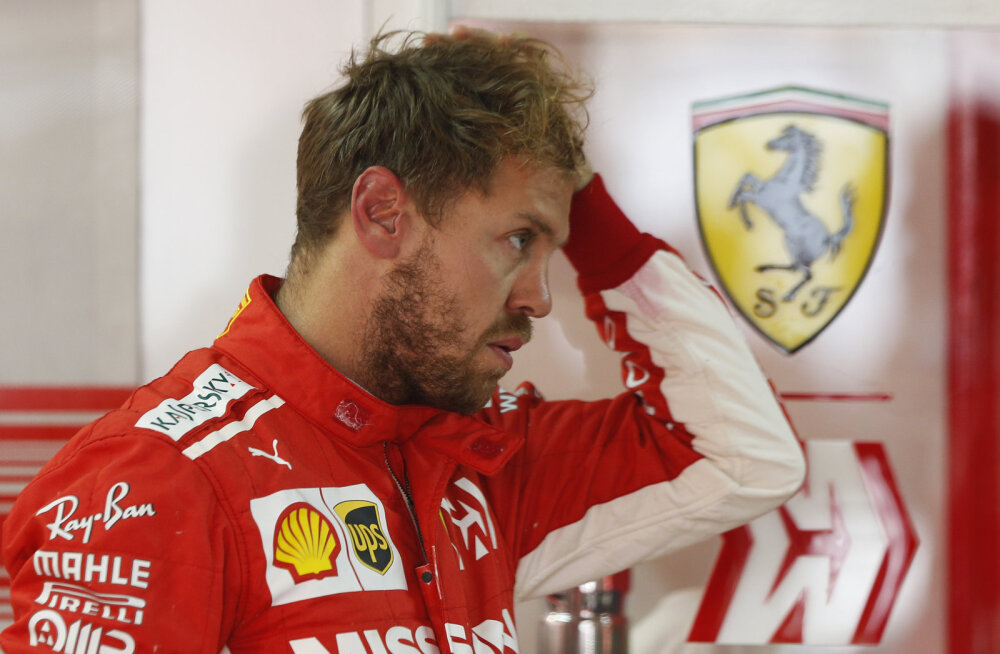 VIDEO | Pistelisel kaalumisel stseeni teinud Vettel sai 25 000 eurot trahvi