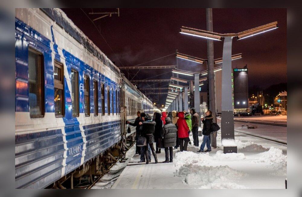 В ближайшие дни в Таллинн на поездах приедут 7000 российских туристов