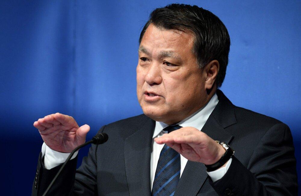 Jaapani olümpiakomitee asepresident nakatus koroonaviirusesse