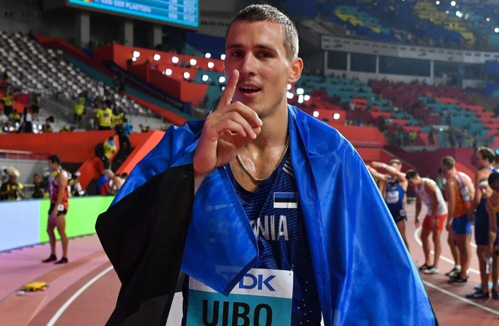 Maicel Uibo jõudis Dohas oma esimese kümnevõistluse suure medalini.