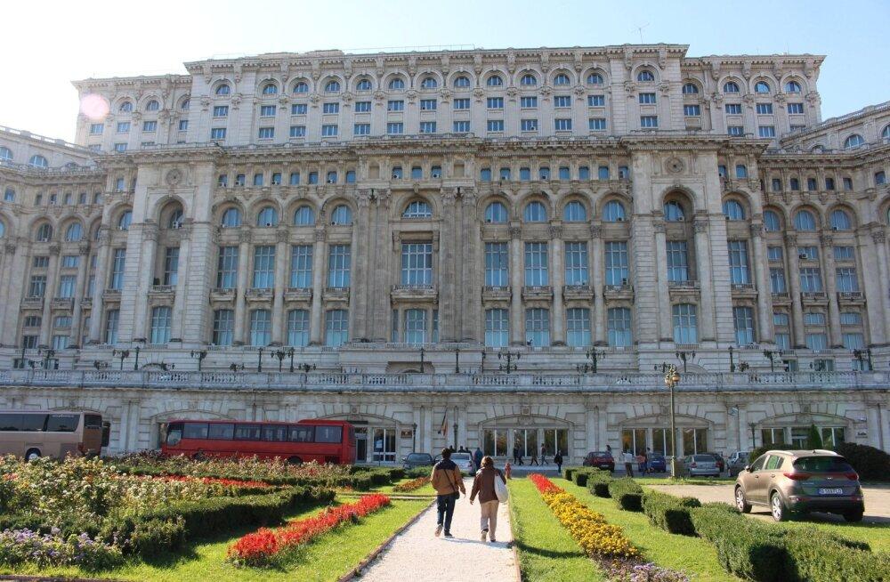 ФОТО Delfi: Дворец Парламента в Бухаресте, или Как Николае Чаушеску исключил возможность химической атаки
