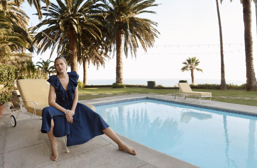 ФОТО | Экологичный гламур: роскошь Лазурного берега и переработанные материалы в новой коллекции H&M Conscious Exclusive