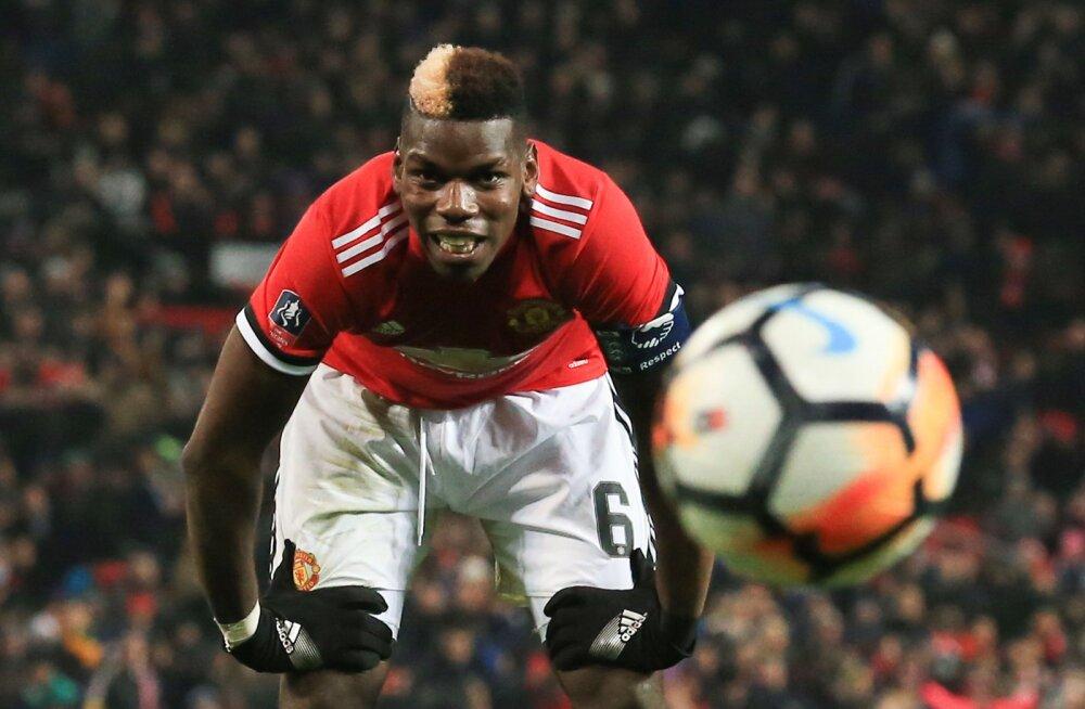 Manchester Unitedi jalgpallur Paul Pogba