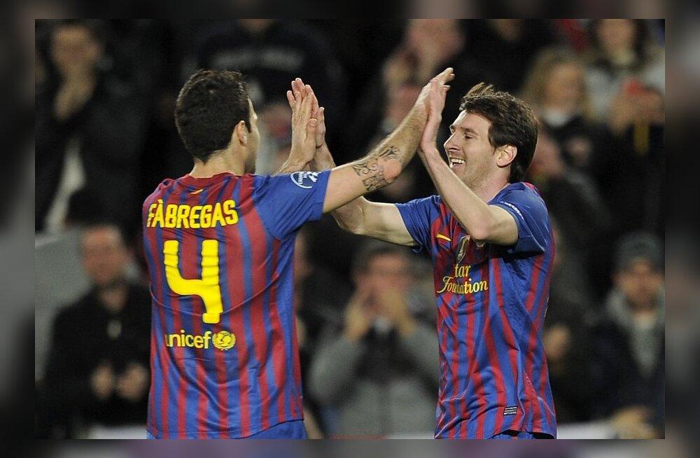 Fabregas ja Messi