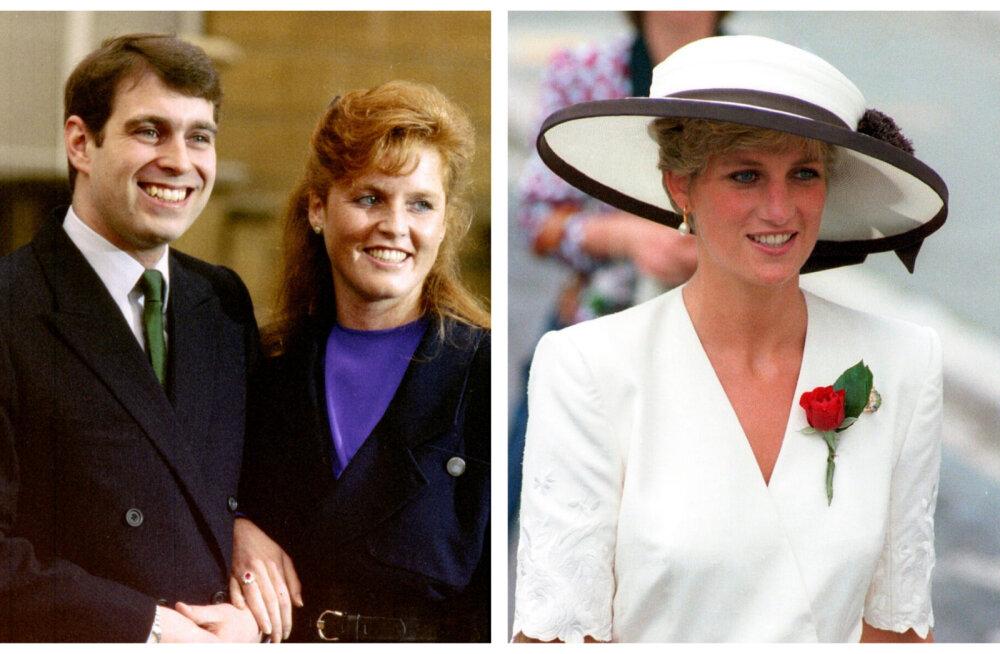 Sarah Ferguson tegi päev enne Diana surma printsessile midagi, mida ta siiani kahetseb