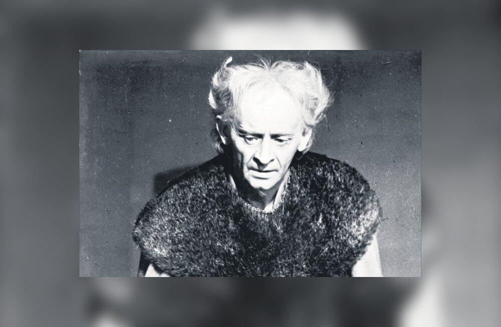 AEGUMATU KUNINGAS LEAR: Jüri Järvet – üks viimaseid näitlejaid, keda tundis kogu eesti rahvas