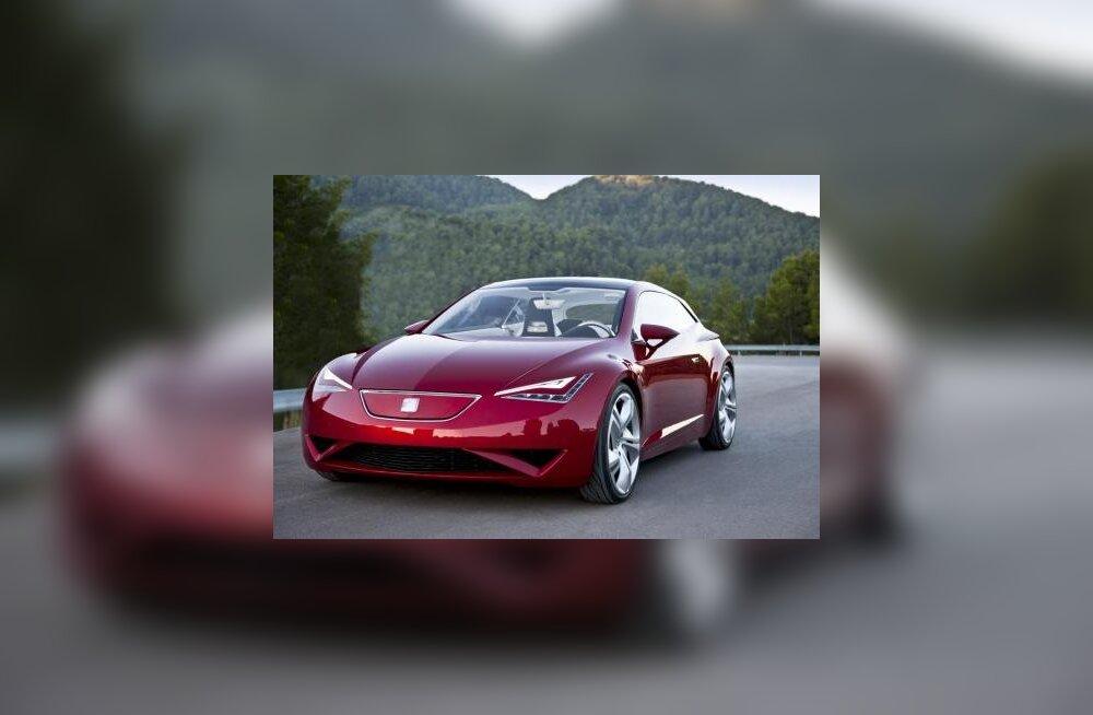 Концепт-кар Seat IBE