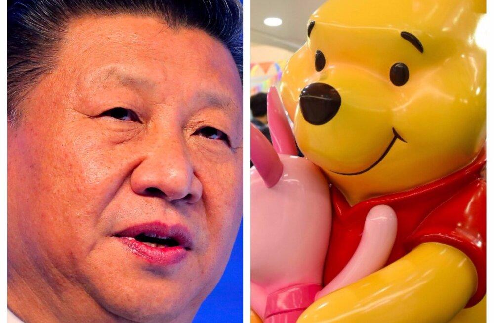 TSENSUUR! Hiina sotsiaalmeedias keelati kõik Karupoeg Puhhiga seonduv