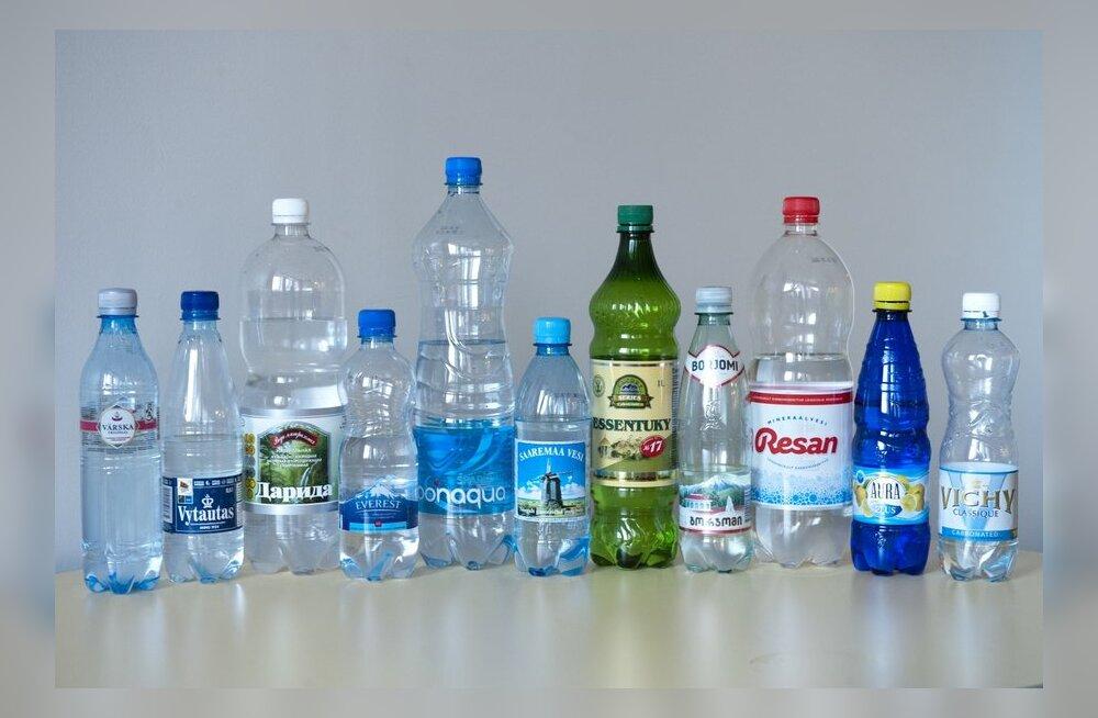 DELFI SUUR MINERAALVEETEST: Kas meeldib pigem soolane või mulliderohke vesi?