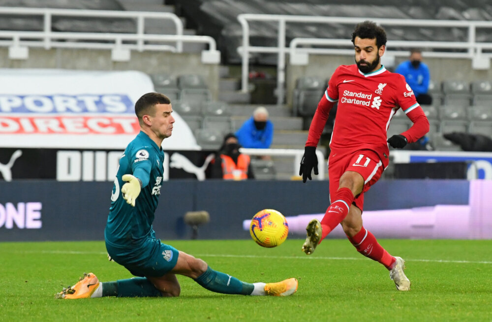 Suurepärase mängu teinud Newcastle'i väravavaht hoidis Liverpooli esmakordselt nulli peal