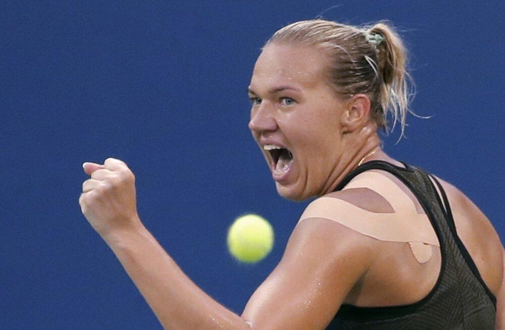 Kaia Kanepi pääses US Openil 16 parema hulka